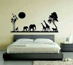 African wall painting