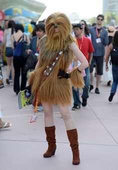 lady chewbacca