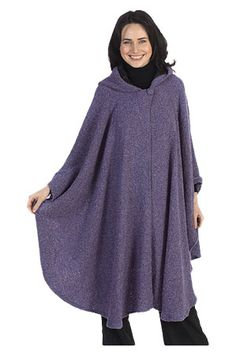 OMG I want this so badly! More specifically I want TWO of these: a Black one and a Red one, which I would wear layered together for extra warmth, and so I could have it reversable, Black on the outside, Red on the inside, or t'other way around, depending on my mood.  LOVE.