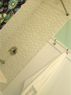 Wainscot In Bathroom Design, Pictures, Remodel, Decor and Ideas tile and wainscoting
