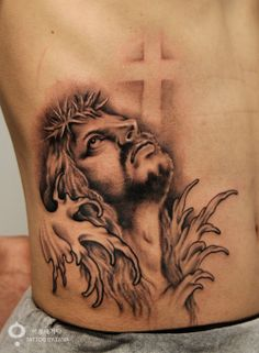 1000 images about christian tattoos on pinterest jesus for Tattoos of black jesus