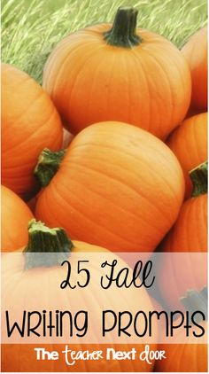 Great fall writing ideas for expository, narrative, persuasive, and even a bit of poetry! Fun writing ideas for - graders. Paragraph Writing, Narrative Writing, Informational Writing, Persuasive Writing, Writing Workshop, Teaching Time, Teaching Writing, Writing Activities, Teaching Ideas