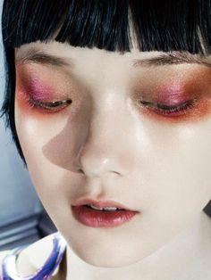Publication: Vogue China June 2014 Model: Yumi Lambert Photographer: Kenneth Willardt Fashion Editor: Nicoletta Santoro Hair: Diego Da Silva Make-up: Lisa Houghton