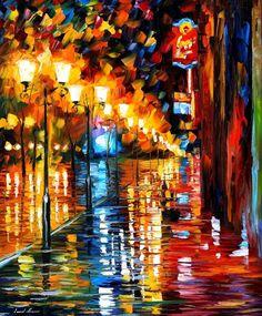 EARLY MORNING - PALETTE KNIFE Oil Painting On Canvas By Leonid Afremov http://afremov.com/EARLY-MORNING-PALETTE-KNIFE-Oil-Painting-On-Canvas-By-Leonid-Afremov-Size-36-x30.html?utm_source=s-pinterest&utm_medium=/afremov_usa&utm_campaign=ADD-YOUR