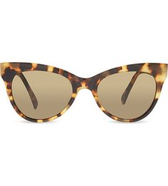 NORMA KAMALI - Tortoise shell cat eye sunglasses | Selfridges.com