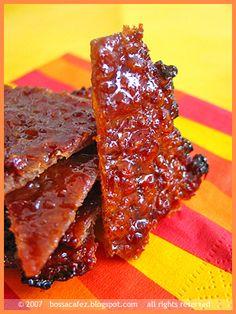 DIY BBQ Pork (Bak Kua) by bossacafez, via Flickr