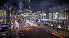 New Renderings of Miami Worldcenter's High Street Retail Promenade