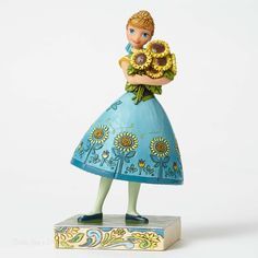 Jim Shore Disney Traditions Frozen Fever Anna 4050882 NEW