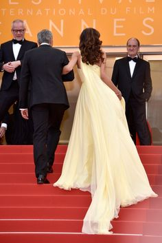 amal clooney cannes 2016