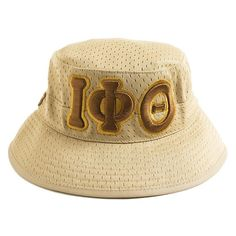 Hats have three Greek letters on front. On the Side Founding year. Masonic Gifts, Greek Paraphernalia, Greek Store, Divine Nine, Omega Psi Phi, Big Letters, Theta, Fraternity, Sorority