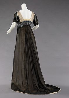 Dress, Evening      Attributed to Jean-Philippe Worth       Attributed to Jean-Charles Worth       1909–11