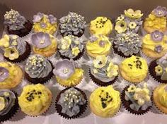 Image result for yellow cupcakes