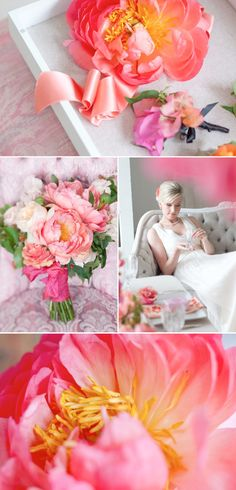 Pink Wedding Inspiration by Cynthia Martyn Events. Photography by Rebecca Wood Photography