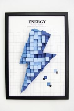 Pattern Matters: Tangible Paper Infographic on the Behance Network