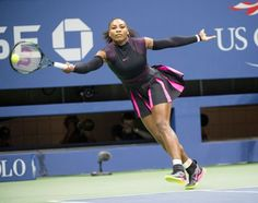 It was tiebreak heartbreak for Serena Williams at the U. Open on Thursday night. Trying to reach her fourth Grand Slam final of the season, trying to win a record-breaking Slam, Williams instea Serena Williams, Sport Girl, Thursday, Sisters, Running, Sports, Tennis, Racing, Hs Sports