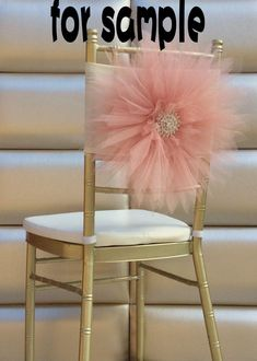 2016 Sample Of 2015 Wedding Chair Covers 3d Tulle Flower Chair Sashes Beautiful…