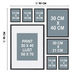 New Wall Gallery Staircase Layout Ideas <br> Gallery Wall Layout, Gallery Wall Frames, Frames On Wall, Wall Art Designs, Wall Design, Hanging Pictures On The Wall, Photo Frame Design, Photo Wall Decor, Memory Wall
