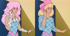 When she effortlessly transitioned from rocker chick to serious business woman. | 27 Times Jem's Outfits Were Truly, Truly, Truly Outrageous