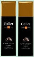 GALLER chocolat noir café noir 2x70grGALLER Dark chocolate filled with praline coffee strong and black. Galler is patented supplier to the Court of Belgium. 2x70gr www.chockies.net