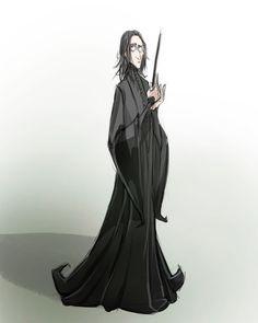 Snape, Burton's style