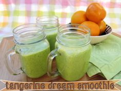 Tangerine Dream Smoothies | Freezer Cooking from Once A Month Mom  #wholefoods #freezermeals