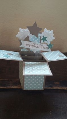Pop up Karte Winter, stampin up