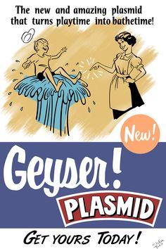 Geyser Plasmid by Spetit05.deviantart.com on @DeviantArt Bioshock 1, Bioshock Rapture, Bioshock Series, Bioshock Infinite, Video Game Art, Video Games, Design Retro, Underwater City, Alternate History