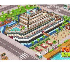 #Foodstreetgame Food Street Game, Food Game, Restaurant Design, Games, World, Kitchen, Pictures, Beautiful, Ideas