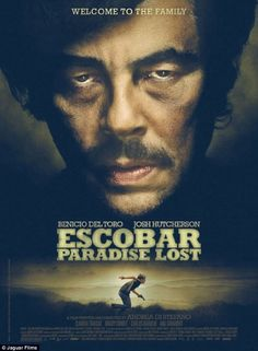 I want to watch this!! Del Toro plays infamous drug kingpin Pablo Escobar