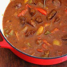 Beef and Pepper Stew by Daring Gourmet
