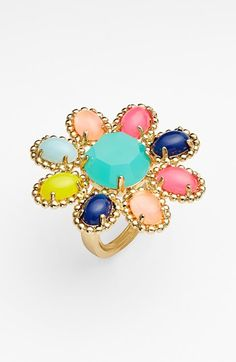kate spade new york 'amalfi mosaic' cocktail ring available at #Nordstrom