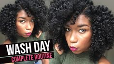 How To Wash Natural Hair - Complete Start To Finish [Video] - http://community.blackhairinformation.com/video-gallery/natural-hair-videos/wash-natural-hair-complete-start-finish-video/