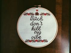 Also this one. | 21 Delightfully Sweary Cross Stitches You Need In Your Life