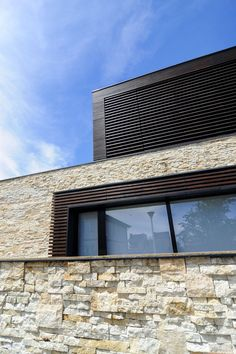 A.B. House by Andreescu and Gaivoronschi   #stone #design #architecture