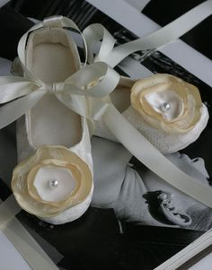 Flower girl shoes wedding pinterest flats girls shoes and ballet mightylinksfo