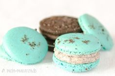 Oreo cream filling - Macarons with Oreo biscuit filling – Macarons – Recipes for baking yourself - Oreo Cheesecake, Strawberry Cheesecake Recipe Easy, Cheesecake Factory Recipe Chicken, Sour Cream Cheesecake, Easy Cheesecake Recipes, Dessert Recipes, Biscuit Oreo, Oreo Biscuits, Oreo Dessert