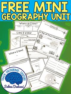 Mini geography unit