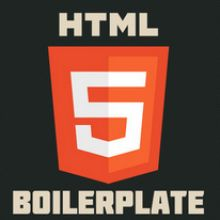 The web's most popular front-end template http://html5boilerplate.com/
