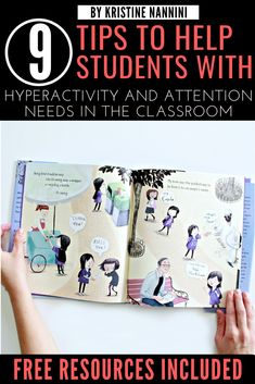9 Tips to Help Students with ADHD, Hyperactivity, and other Attention Needs in the Classroom - Young Teacher Love 5th Grade Classroom, Middle School Classroom, Classroom Behavior, Classroom Management, High School, Upper Elementary Resources, Teaching Resources, Teaching Ideas, Teacher Blogs