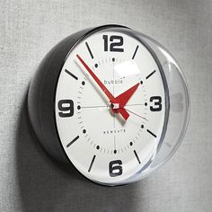 "Newgate Wall Clocks - Bubble #WestElm - Not a matter of ""if"" I'll be buying, but ""when""..."