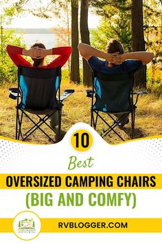 Camping chairs need to be these two to be perfect: oversized and comfy. If you're in the market for one or two camping chairs, this list might just help you make the right purchase. Click to explore. Diy Camping, Tent Camping, Camping Gear, Backpacking, Rv Camping Checklist, Vacation Checklist, Camping For Beginners, Popup Camper, Camping Chairs