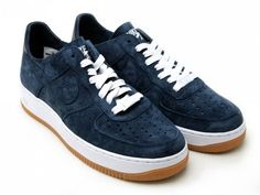 Nike Air Force 1 Low Supreme Deconstruct Navy/Gum