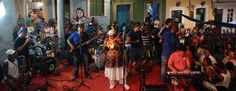 WORLD MUSIC BAHIA - Geronimo Santana e Banda Mont´Serrat - Escadaria do Passo - Salvador-Bahia-Brasil (10-03-2015)