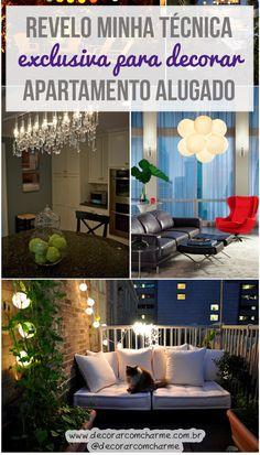1000 ideias sobre decorando casa alugada no pinterest - Cortinas improvisadas ...