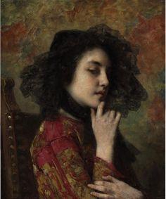 Portrait by Alexei Harlamoff