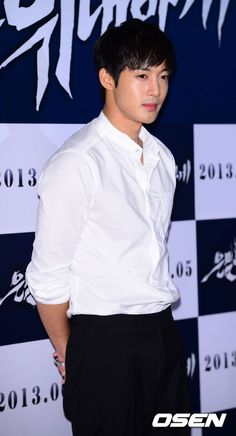 Kim Hyun Joong at 'Secretly, Greatly' movie premiere 2013-05-27