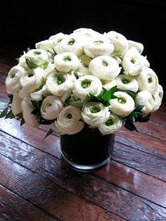 White bundled arrangement - TheFullerView