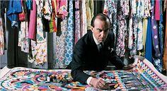 Emilio Pucci, fashion designer of the 60s.