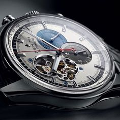 Zenith Watches @ZenithWatches  There's no doubt why the El Primero Chronomaster is one of the most loved watches, thanks it's delicate lines and its open heart.