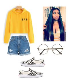 """Untitled #138"" by haileymagana on Polyvore featuring Nobody Denim and Vans"